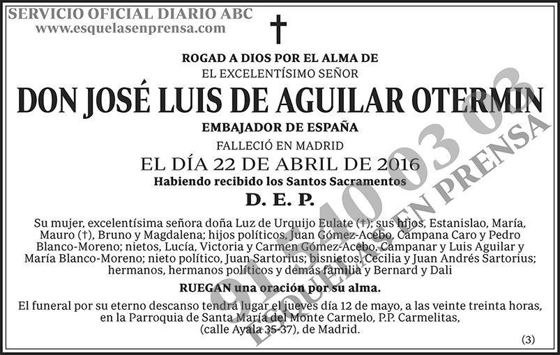 José Luis de Aguilar Otermin
